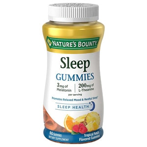Nature's Bounty Sleep Complex 3 mg Melatonin/200 mg Gummies,