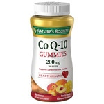 Nature's Bounty CoQ10 200 mg Gummies, Peach Mango- 60 ea