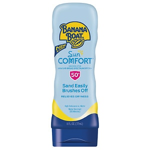 Banana Boat SunComfort Broad Spectrum Sunscreen Lotion SPF 50+