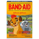 Band-Aid Children's Adhesive Bandages,Disney's Lion Guard, Assorted Sizes- 20 ea