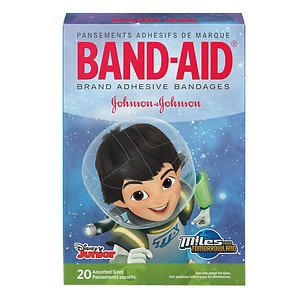 Band-Aid Children Adhesive Bandages, Miles from Tomorrowland, Assorted Sizes