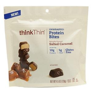 thinkThin Unwrapped Protein Bites, Salted Caramel