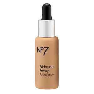 Boots No7 Airbrush Away Foundation, Latte