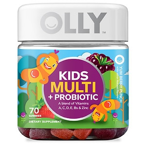 Olly Kids' Multi + Probiotic, Yum Berry Punch