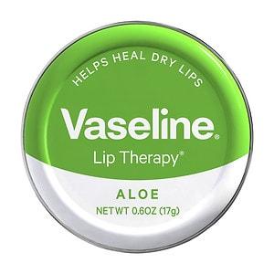 Vaseline Lip Therapy Lip Balm Tin, Aloe Vera