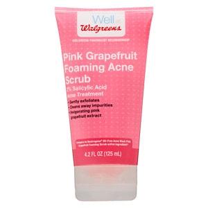Walgreens Pink Grapefruit Facial Scrub, 4.2 oz