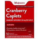 Walgreens Cranberry Urinary Tract Health Caps- 50 ea