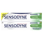Sensodyne Toothpaste Fresh, Mint, 2 pk- 4 oz