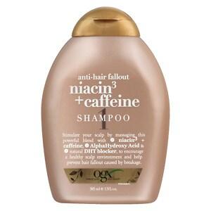 OGX Anti-Hair Fallout Niacin3 & Caffeine Shampoo, 13 oz