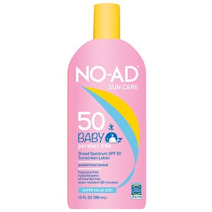 NO-AD Baby SPF 50 Sunscreen Lotion