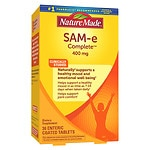 Nature Made SAM-e Complete, 400mg, Tablets- 36 ea