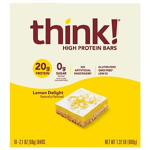 thinkThin High Protein Bar, Lemon, 10 pk