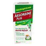 Absorbine Jr Pain Relieving Liquid- 4 oz