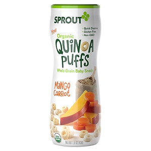 Sprout Puffs, Mango Carrot