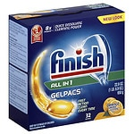 Finish Powerball Tabs Dishwasher Detergent Tablets- 32 ea