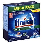 Finish Powerball Tabs Dishwasher Detergent Tablets- 90 ea