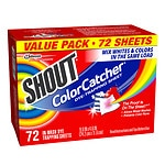 Shout Color Catcher Dye Trapping Sheets- 72 ea