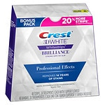 Crest 3D White Whitestrips Professional Effects Teeth Whitening Kit, 24 strips- 1 ea