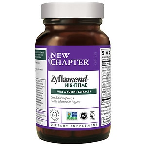New Chapter Zyflamend Nighttime, Vegetarian Capsules