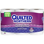 Quilted Northern Ultra Plush Double Rolls- 6 ea