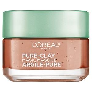 L'Oreal Paris Pure-Clay Mask, Exfoliate & Refine Pores
