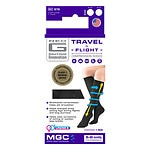 Neo G Travel & Flight Compression Socks, Black, Large- 1 ea