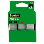 Scotch Magic Tape, 3 Pack