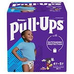 Huggies Pull-Ups Learning Designs Training Pants for Boys, 4T - 5T- 56 ea
