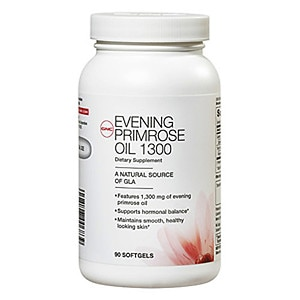 GNC Women's Evening Primrose Oil 1300, Softgel Capsules