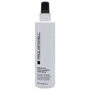 Paul Mitchell Firm Style Freeze and Shine Super Spray, Firm Hold Style, 8.5 fl oz