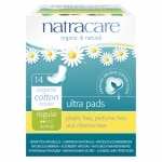 Natracare Natural Ultra Pads, Regular, 14 ea