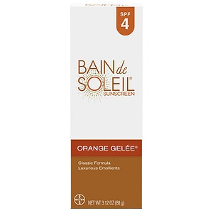 Bain de Soleil Orange Gelee Sunscreen, SPF 4- 3.12 oz