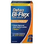 Osteo Bi-Flex Triple Strength Glucosamine Chondroitin, Caplets- 40 ea