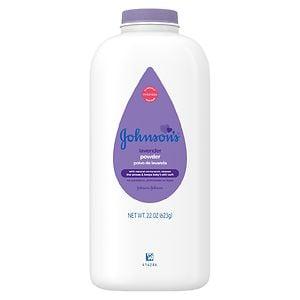 Johnson's Baby Pure Cornstarch Powder, Calming Lavender & Chamomile- 22 oz