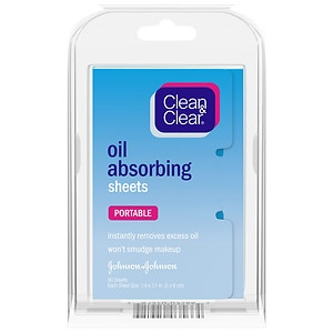 Clean & Clear Oil Absorbing Sheets- 50 ea