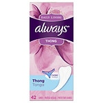Always Thong Mini-Slip- 42 ea