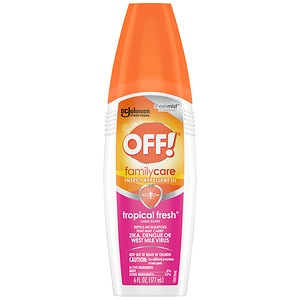 Off! Skintastic Insect Repellent for the Family, Spray Pump - 4.75% DEET- 6 fl oz