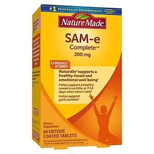Nature Made SAM-e Complete, 200mg, Tablets- 60 ea