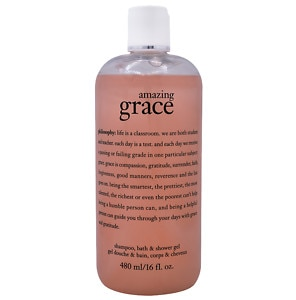 philosophy amazing grace shampoo, bath & shower gel- 16 oz