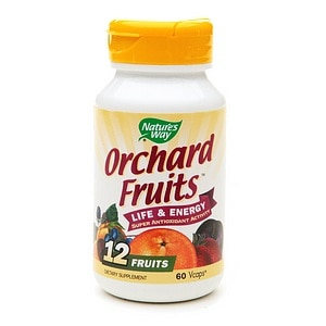 Nature's Way Orchard Fruits, VCaps- 60 ea