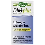 Nature's Way DIM-plus Estrogen Metabolism Formula, Capsules