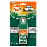 Deep Woods Off! for Sportsmen Insect Repellent I, Pump Spray,