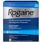 Men's Rogaine Extra Strength Hair Regrowth Treatment, 3 Month Supply, 3pk- 2 oz