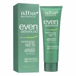 Alba Botanica Sea Moss Moisturizer, SPF 15+