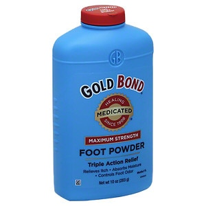 Gold Bond Triple Action Medicated Foot Powder- 10 oz
