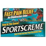 Sportscreme Deep Penetrating Pain Relieving Rub- 3 oz