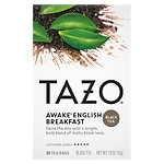 Tazo Black Tea, Awake, English Breakfast, 20 pk- .09 oz