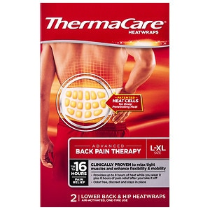 ThermaCare Air-Activated Heatwraps, Back & Hip, search for the best selling hot & cold item, Large/Extra Large