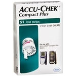 Accu-Chek Compact Test Drums, 51 Tests