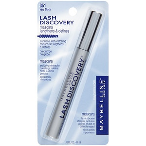 Maybelline Lash Discovery Washable Mascara, Very Black